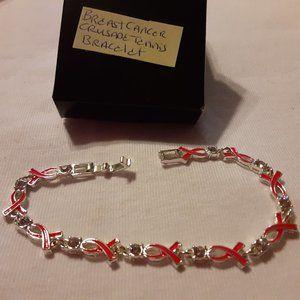 Crusade Breast Cancer Tennis Bracelet